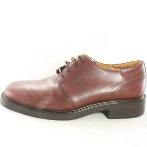 Bostonian Shoes - BOSTONIAN Strada Brown Leather Wide Toe Oxfords